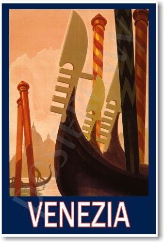 Venezia Italy Vintage - NEW World Travel Art Poster