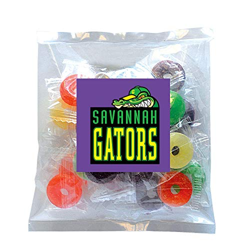 Candy Gift Pack-Life Savers with CUSTOMIZED in Personalized Small Label Pack-BULK Quantities of 250, 500, 1000, 2500 per…