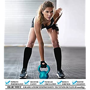 Compression Socks,(3 pairs) Compression Sock for Women & Men,Best Medical, Nursing, for Running, Athletic, Edema, Varicose Veins.