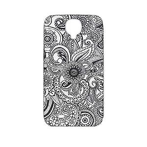 Fortune Unique flowers pattern 3D Phone Case for Samsung Galaxy s4 WANGJING JINDA