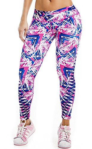 fiber-printed-legging-zic-zac-triangles-pattern