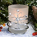Snowflake Candles - 36 count