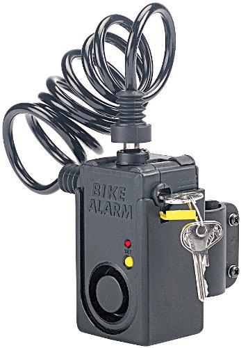 VisorTech - Candado antirrobo con cable y alarma para ...