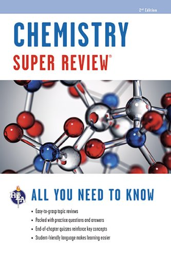 Chemistry Super Review (Super Reviews Study Guides)