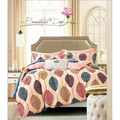 MSE Model(Made In India) Comforter Color Bed Comforters Traditional Zurich Cotton Quilt With Golden Printcomforter Double Multi