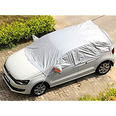 "Safe View Half Car Cover Top Waterproof All Weather/Windproof/Dustproof/Windshield Cover Snow Ice Winter Summer for Sedan SUV (SUV YL(185""-197\""): Automotive [5Bkhe1002899]"