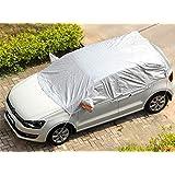 "Kadooria Safe View Half Car Cover Top Waterproof/Windproof/Dustproof/Windshield Cover Snow Winter Summer (SUV YL(185""-197""))"