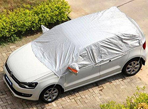 Safe View Half Size Car Cover Top Waterproof /Windproof/Dustproof/ Windshield Cover Snow Ice Winter Summer For Sedan SUV (SUV YL(185