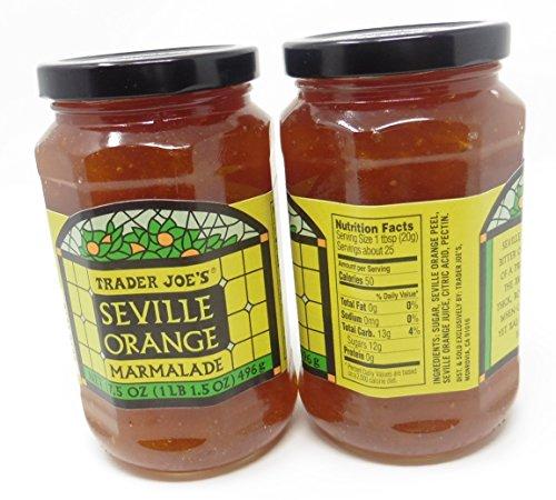 Seville Orange Marmalade Trader Joes 2 Bottles Each 17.5 Oz