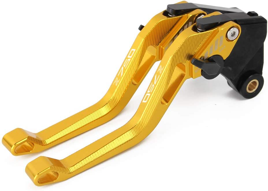 Kit Levier dembrayage et levier de frein Aluminium Usin/é CNC pour Kawasaki Z750 2007-2012