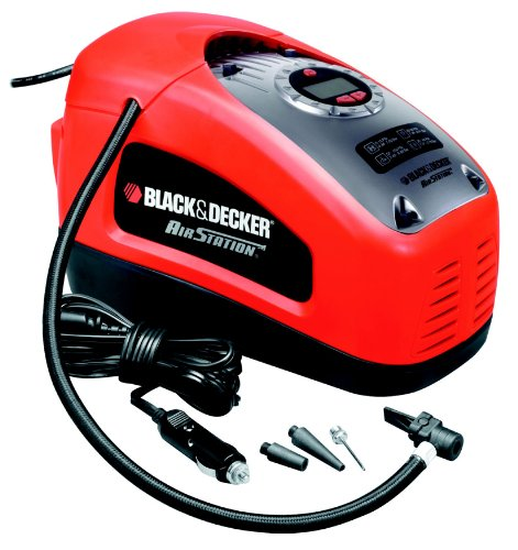 Gonfleur/Compresseur Black + Decker ASI300 11 bars