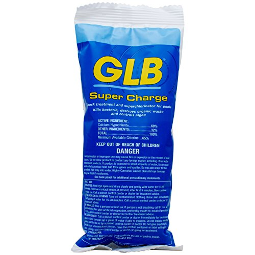 GLB Pool and Spa Products GLB71428A Calcium-Hypochlorite Super Charge Shock, 1 ()