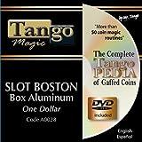 Slot Boston Coin Box Aluminum One Dollar by Tango Magic