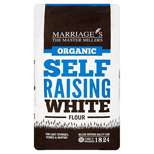 Marriage's Organic Self Raising White Flour - 1kg