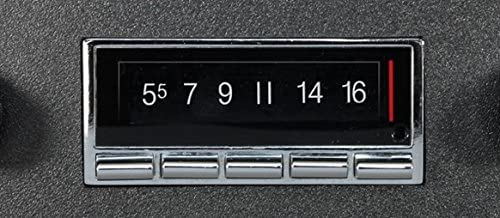 Custom Autosound Bluetooth Stereo compatible with 1970-1971 Ford Torino USA-740 300 watt AM FM Car Stereo//Radio with built-in Bluetooth AUX Inputs Color Change LCD Digital Display