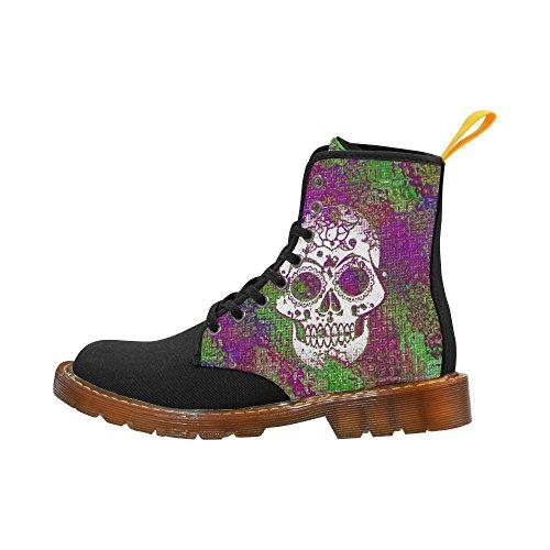 Leinterest Modern Skull Martin Botas Zapatos De Moda Para Mujeres