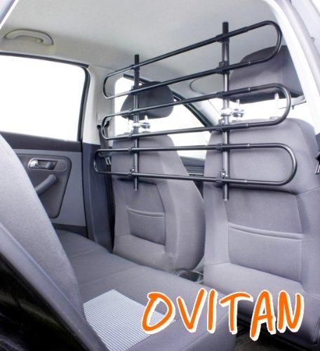 ovitan hundegitter xl f rs auto 6 streben universal zur befestigung an den kopfst tzen der. Black Bedroom Furniture Sets. Home Design Ideas