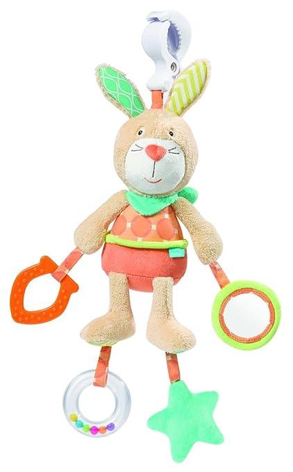 Peluche de actividades Babysun Funky Friends, diseño de conejo