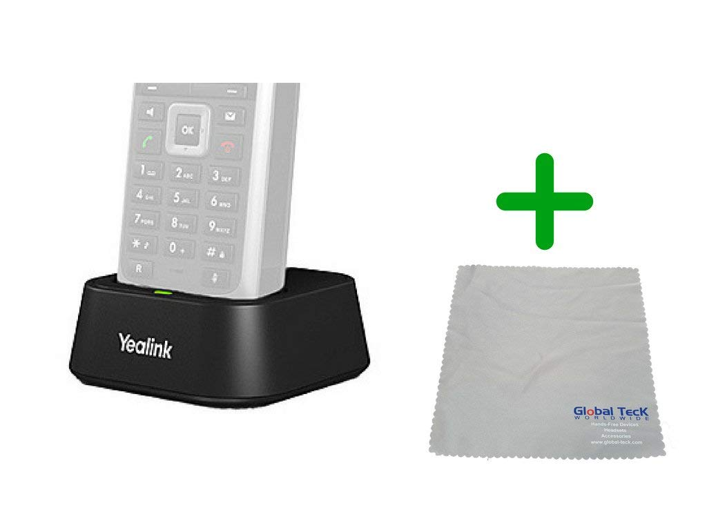 Yealink W52P DECT SIP Charging Dock | Includes Power Supply | Microfiber Cloth #YEA-W52P-BB