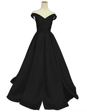 Dressesonline Womens Off Shoulder A-Line Prom Dresses Formal Evening Dresses US2