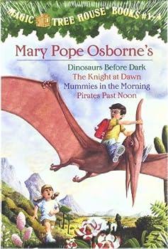 Magic Tree House: #1-4 0679883894 Book Cover