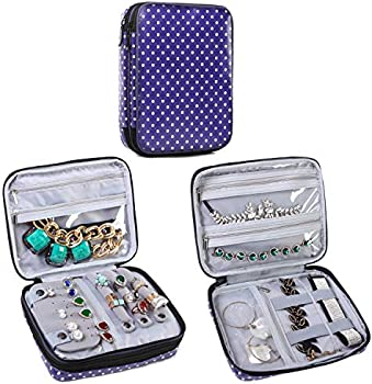 Teamoy Double Layer Jewelry Organizer Case