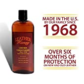 Leather Honey Leather Conditioner Best Leather Conditioner Since 1968. For Use on Leather Apparel, Furniture, Auto Interiors, Shoes, Bags and Accessories. Non-Toxic and Made in the USA!