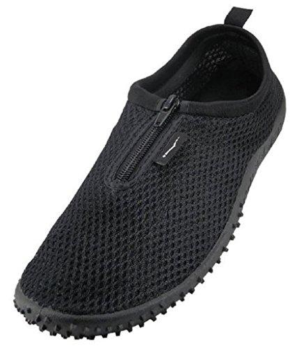 The Wave - Mens Aqua Shoe (11, Black)
