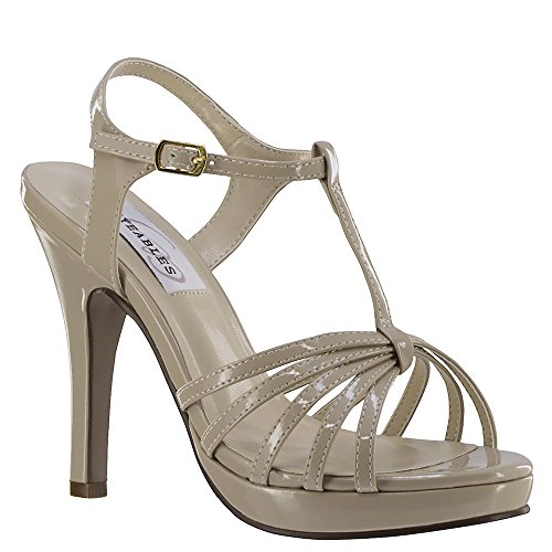 Dyeables Kaylee Women's Sandal 10 B(M) US Nude
