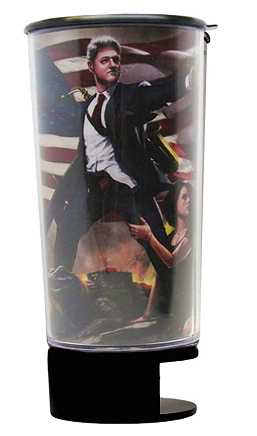 Bill Clinton Spit Bud Portable Spittoon with Can Opener: The Ultimate  Spill-Proof Spitter by Spitbud