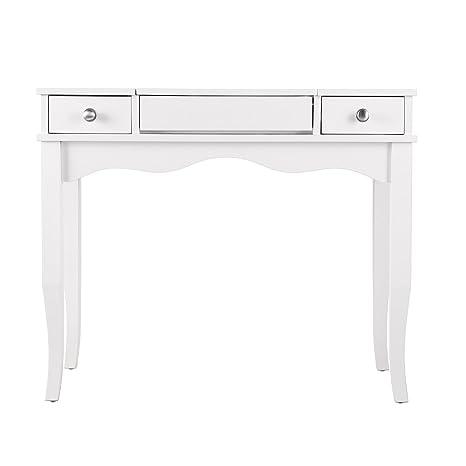 Amazon Com Furniture Hotspot Vanity Table Set Ivory Kitchen