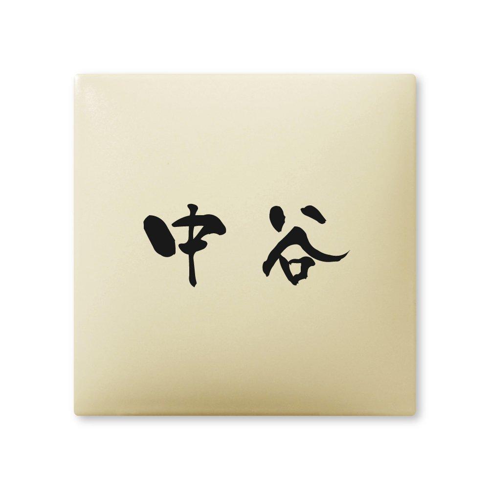 丸三タカギ 彫り込み済表札 【 中谷 】 完成品 アークタイル AR-1-1-3-中谷   B00RFAKESQ