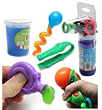 Ladybug Bubble Fine Motor Squeeze Strength Development Bundle #2 - Hand and Finger Strength Tasks - Occupational therapy, ASD, Autism, Sensory toys, Therapy Toy