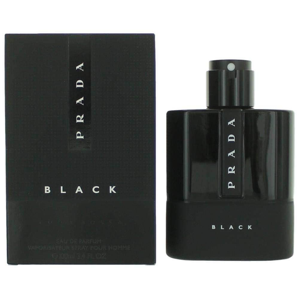 Prada Luna Rossa Black for Men Eau de Parfum Spray, 3.4 Ounce by Prada