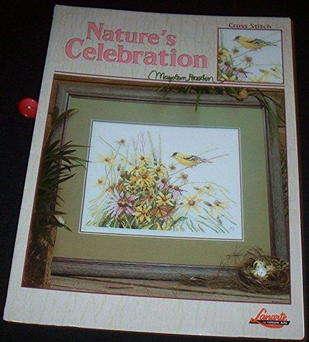 Bastin Cross Stitch - Nature's celebration: Cross stitch (Leisure Arts leaflet)