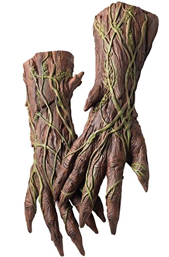 Rubie's Costume Men's Guardians Of The Galaxy Groot Costume Hands, Multi, One Size
