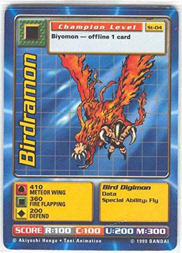 - Digimon Card - Birdramon St-04 - Champion Level