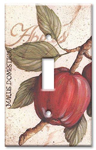 (Single Gang Toggle Wall Plate - Apples)