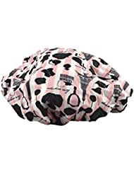Betty Dain Socialite Collection Terry Lined Shower Cap, Boudoir
