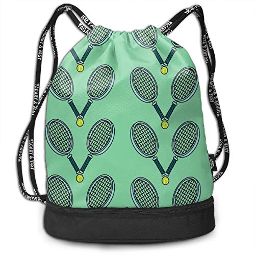 Swiming Travel School Beam Backpack Tennis Ball And Racket Beam Bag Basketball, Volleyball, Baseball Rucksack For Boys Teens Youth Sports & Workout - Chair Volleyball Bag Bean