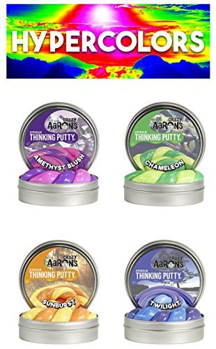 Crazy Aaron's Putty .47 oz Mini Tin Assortment - 12 Pack by Crazy Aaron's (Image #2)