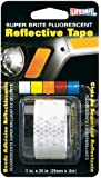 """Incom RE182  Silver 1"""" x 24"""" High Visibility Reflective Safety Tape"""