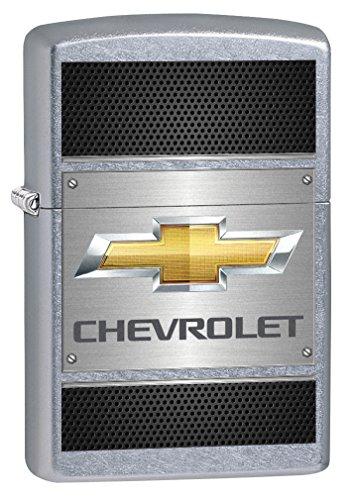 Zippo Lighter: Chevy, Chevrolet on Steel - Street Chrome 78405