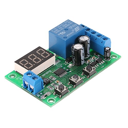 KKmoon 12V 0-10A DC Current Detection Module Current Sensing Detecting Delay Relay Control