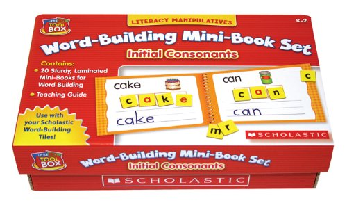Little Red Tool Box: Word-Building Mini-Book Set: Initial Consonants