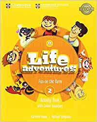 Life Adventures Level 2 Activity Book with Home Booklet and Online Activities: Fun on the farm