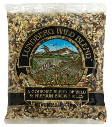 Lundberg Farms Gourmet Wild Rice Blend (6X1 Lb) by Lundberg