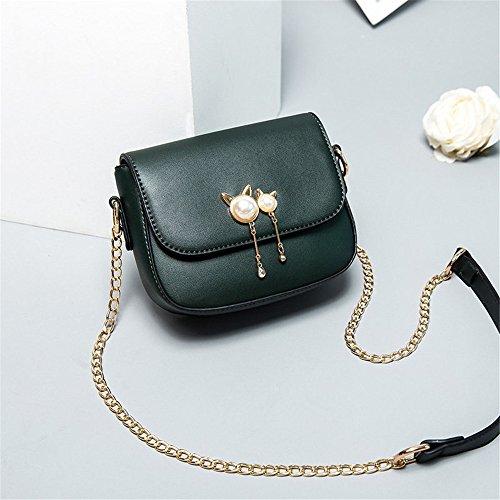 Single Green Shoulder Lady Summer Bag Purse q7wFWqRx