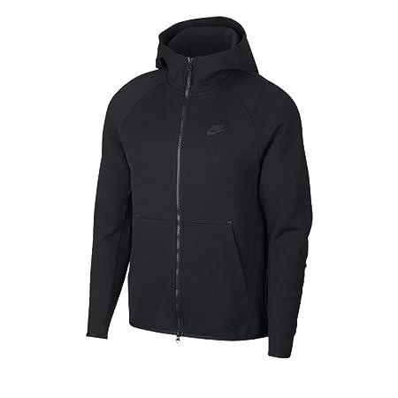 ac63e4c1f679 Nike Men s Sportswear Tech Fleece Hooded Full Zip Top  Amazon.co.uk ...