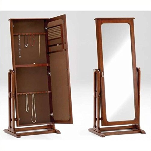 Jewelry Armoire with Cheval - Online Mirror Test Image